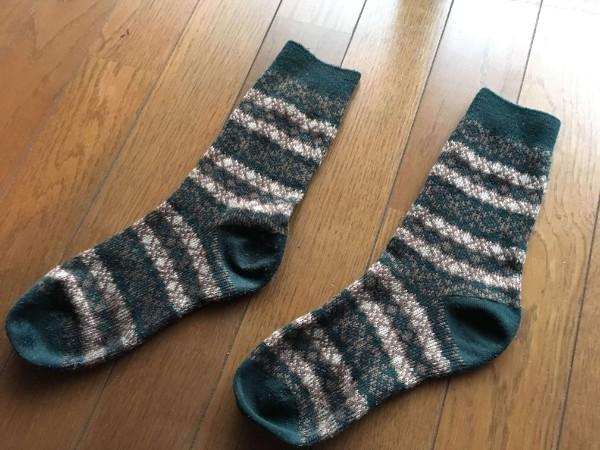 靴下after