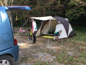 笹栗楽園キャンプ場